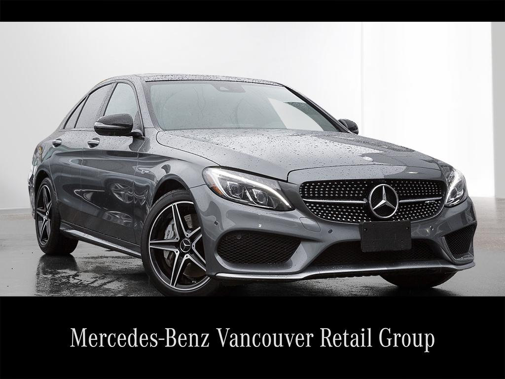 Certified pre owned 2017 mercedes benz c class c43 amg for Mercedes benz c43 amg lease