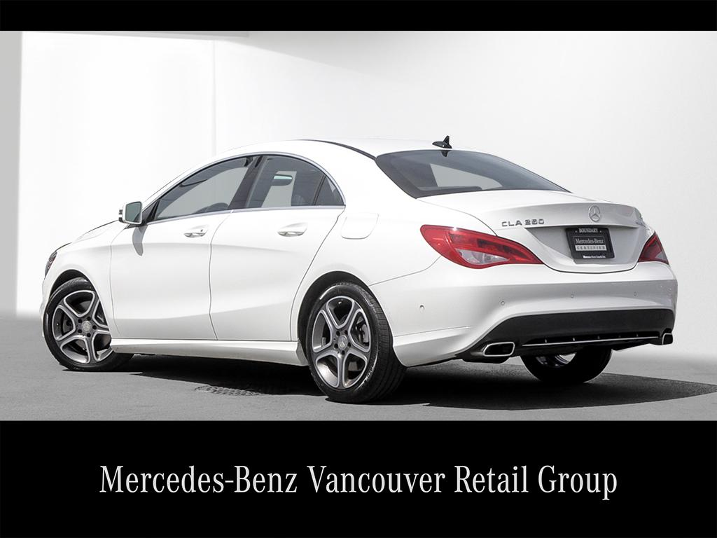 Certified pre owned 2015 mercedes benz cla cla250 coupe in for Mercedes benz vancouver bc